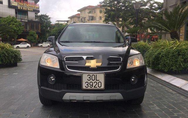Cần bán xe Chevrolet Captiva 2008, màu đen0
