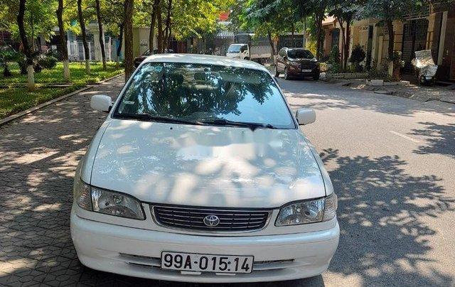 Bán Toyota Corolla Altis 1997, màu trắng, số sàn, giá chỉ 135 triệu2