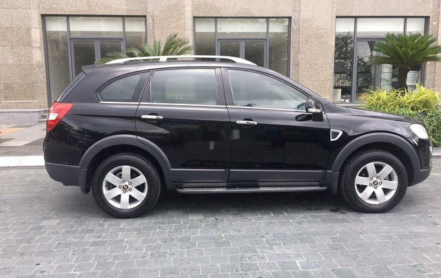 Cần bán xe Chevrolet Captiva 2008, màu đen2
