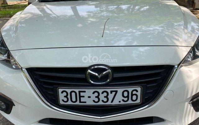 Chính chủ cần bán cần bán Mazda 3 đời 2016, màu trắng, giá chỉ 580tr0