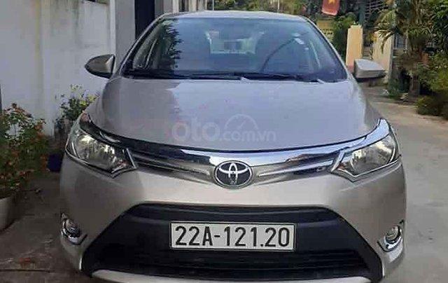 Bán Toyota Vios E 2015 còn mới, giá tốt1