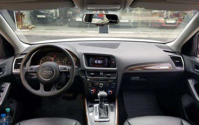 Bán Audi Q5 2.0 TFSI Quattro, sản xuất 2016, đăng ký 2017, màu trắng8