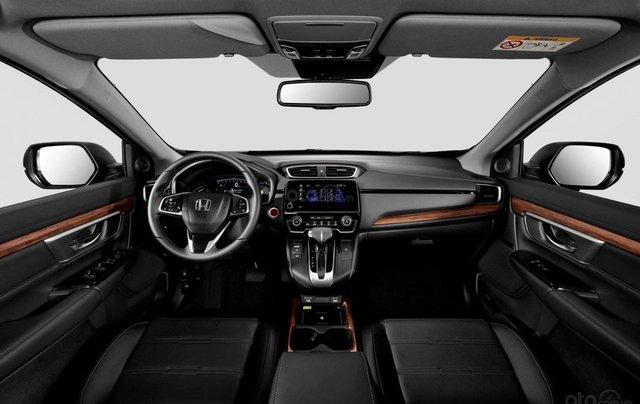 Honda CR-V 2020 Facelift, màu trắng1