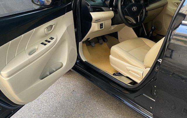 Cần bán lại xe Toyota Vios sản xuất năm 2015, màu đen chính chủ6