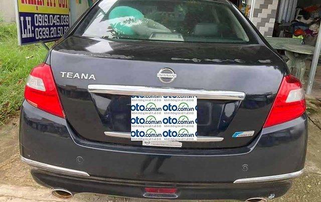 Cần bán xe Nissan Teana sản xuất 2009, màu đen, nhập khẩu  2