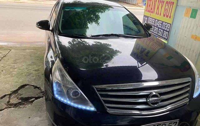 Cần bán xe Nissan Teana sản xuất 2009, màu đen, nhập khẩu  0