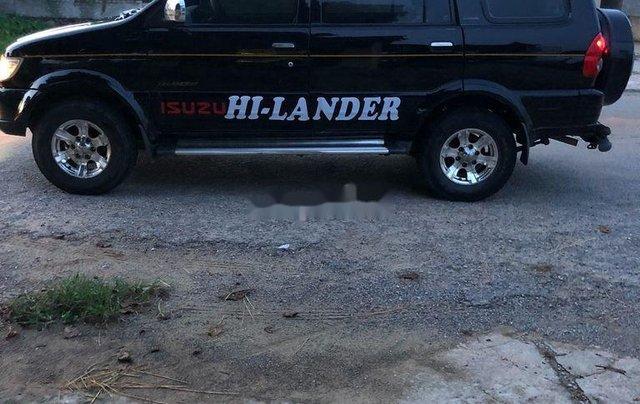 Bán xe Isuzu Hi lander đời 2006, màu đen ít sử dụng, 179 triệu2