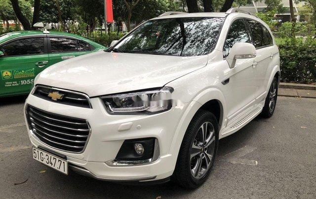 Bán Chevrolet Captiva LTZ sản xuất năm 2017, màu trắng, nhập khẩu nguyên chiếc chính chủ1