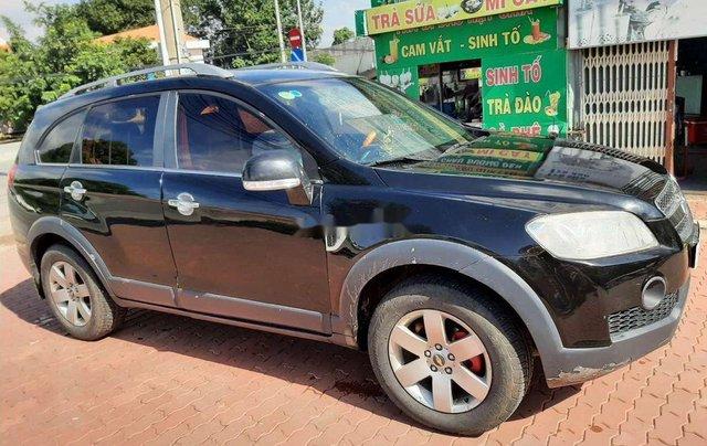Bán xe Chevrolet Captiva sản xuất 2007, màu đen 1
