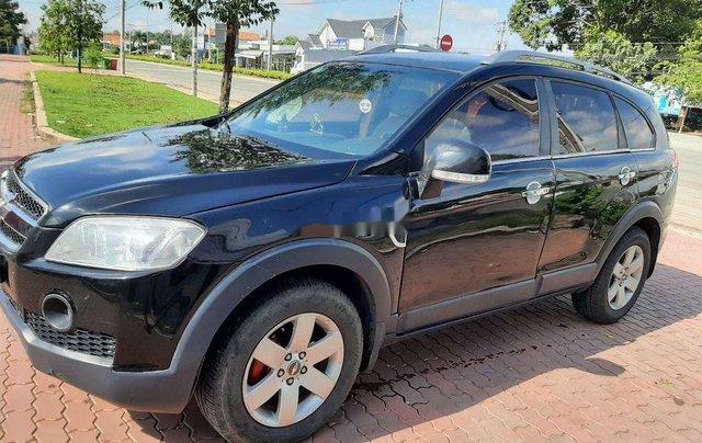 Bán xe Chevrolet Captiva sản xuất 2007, màu đen 0