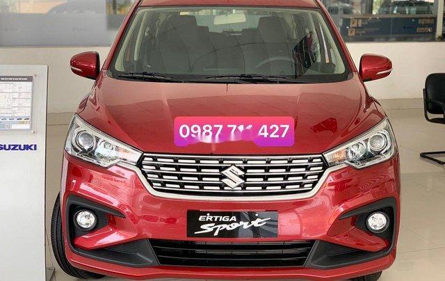 Cần bán Suzuki Ertiga năm sản xuất 2020, màu đỏ, xe nhập  0