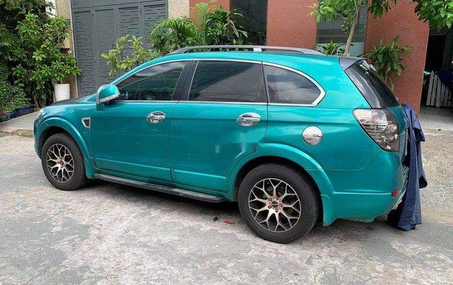Bán Chevrolet Captiva sản xuất năm 2007, màu xanh0