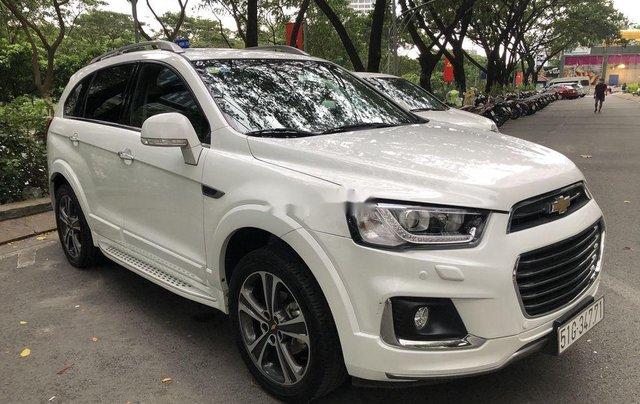 Bán Chevrolet Captiva LTZ sản xuất năm 2017, màu trắng, nhập khẩu nguyên chiếc chính chủ0