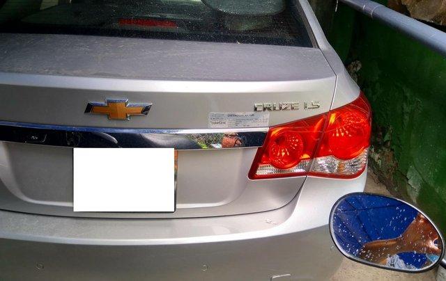Bán xe Chevrolet Cruze năm 2014 màu bạc - liên hệ trực tiếp chính chủ - xe gia đình đi, đảm bảo không đâm đụng ngập nước2