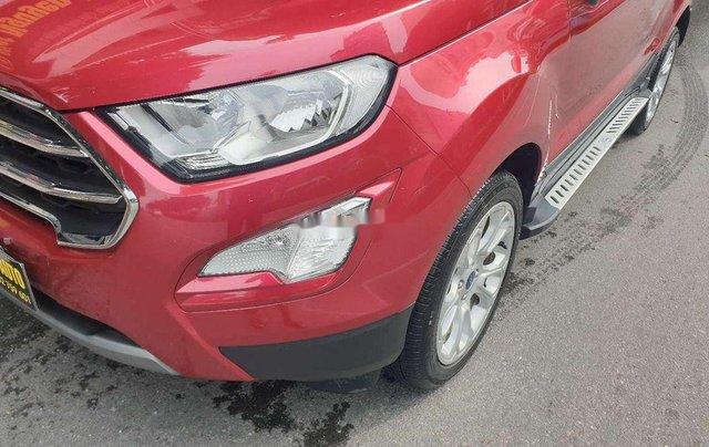 Bán Ford EcoSport 1.5 Titanium đời 2018, màu đỏ, giá 555tr9
