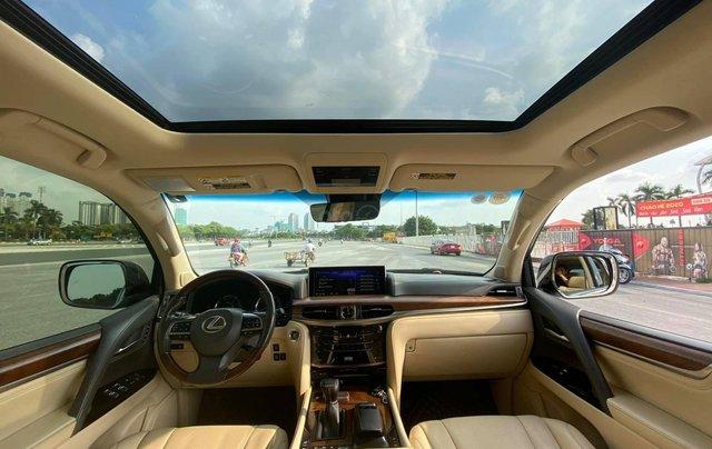 Chính chủ bán Lexus LX 570 Super Sport V8 dung tích 5.7L, sản xuất 2016, màu trắng nội thất kem, nhập chính hãng từ đầu4