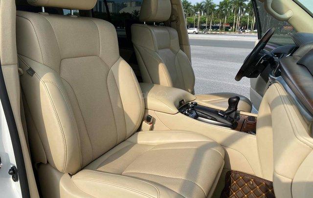 Chính chủ bán Lexus LX 570 Super Sport V8 dung tích 5.7L, sản xuất 2016, màu trắng nội thất kem, nhập chính hãng từ đầu7