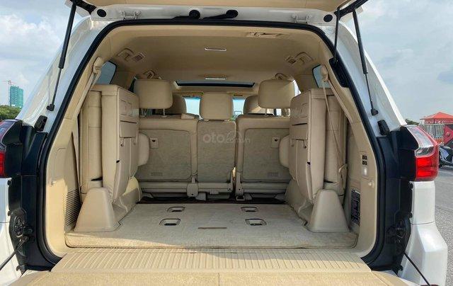 Chính chủ bán Lexus LX 570 Super Sport V8 dung tích 5.7L, sản xuất 2016, màu trắng nội thất kem, nhập chính hãng từ đầu6