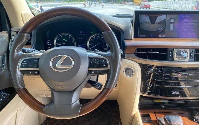 Chính chủ bán Lexus LX 570 Super Sport V8 dung tích 5.7L, sản xuất 2016, màu trắng nội thất kem, nhập chính hãng từ đầu9
