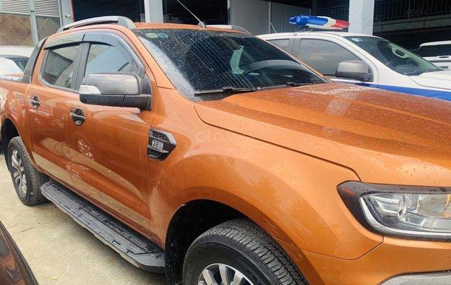Bán Ford Ranger sản xuất 2017, màu vàng cam, mới 95%, giá chỉ 749 triệu đồng0
