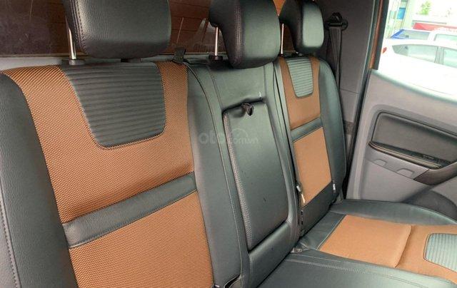 Bán Ford Ranger sản xuất 2017, màu vàng cam, mới 95%, giá chỉ 749 triệu đồng5