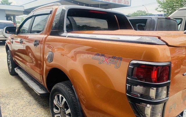 Bán Ford Ranger sản xuất 2017, màu vàng cam, mới 95%, giá chỉ 749 triệu đồng8