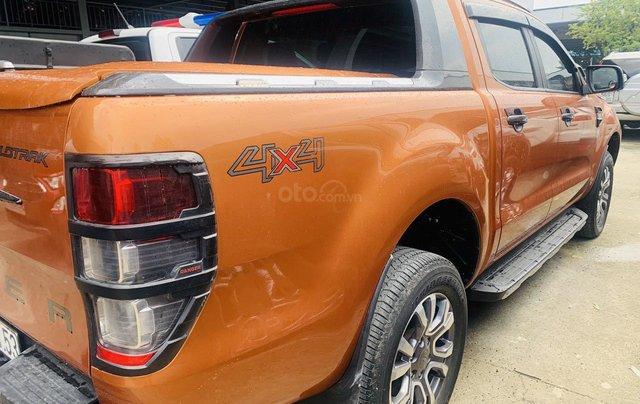 Bán Ford Ranger sản xuất 2017, màu vàng cam, mới 95%, giá chỉ 749 triệu đồng9