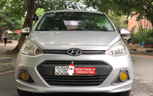 Bán xe Hyundai Grand i10 đăng ký lần đầu 2016, màu bạc, nhập khẩu nguyên chiếc, giá chỉ 295 triệu đồng1