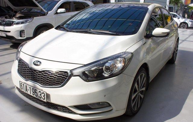 Bán xe Kia K3 đời 2014, giá chỉ 430 triệu, màu trắng1