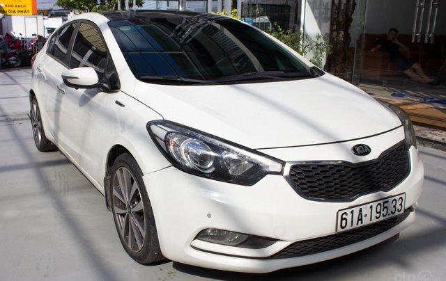 Bán xe Kia K3 đời 2014, giá chỉ 430 triệu, màu trắng2