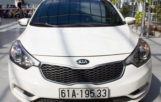 Bán xe Kia K3 đời 2014, giá chỉ 430 triệu, màu trắng0