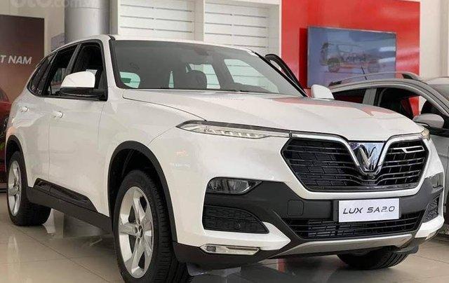 Xe VinFast LUX SA 2.0 AT 2020, màu trắng0