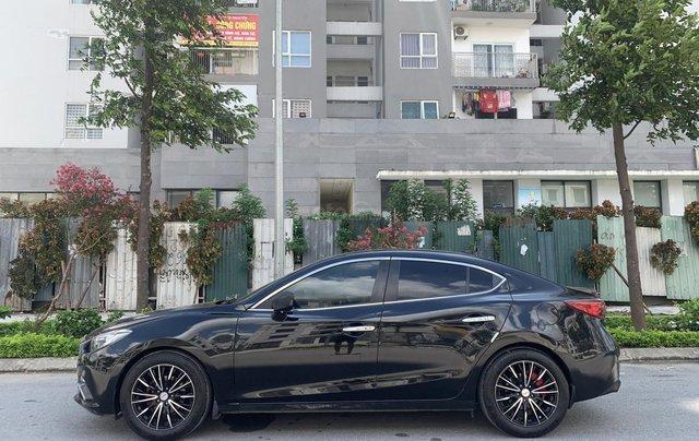 Bán ô tô Mazda 3 sản xuất 2016 đen huyền bí5