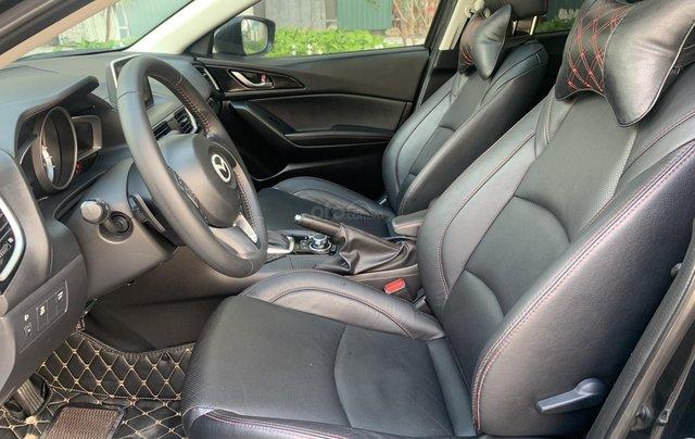 Bán ô tô Mazda 3 sản xuất 2016 đen huyền bí6