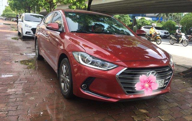 Bán Hyundai Elantra đời 2016, màu đỏ0