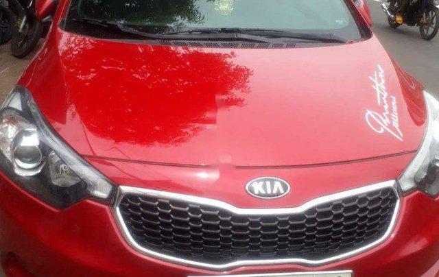 Cần bán lại xe Kia K3 sản xuất 2015, màu đỏ số tự động0