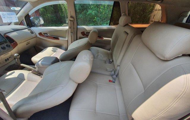 Toyota Innova G xịn sx 2007, tư nhân không dịch vụ8