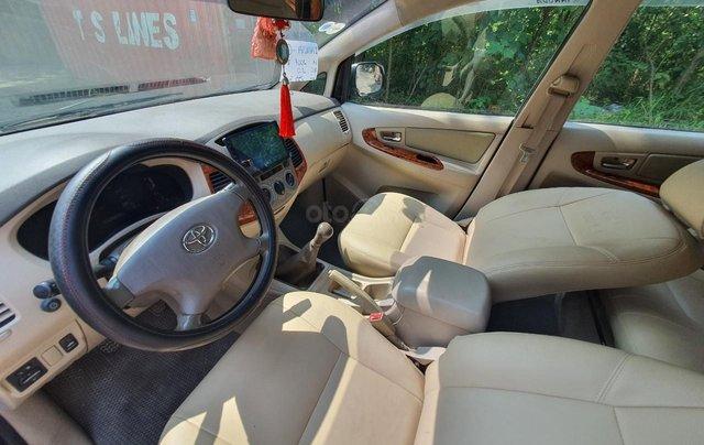Toyota Innova G xịn sx 2007, tư nhân không dịch vụ11