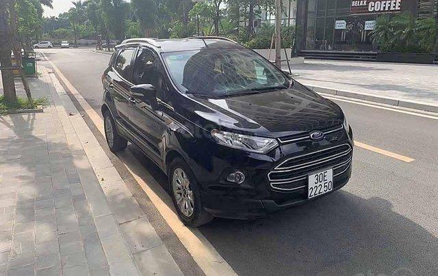 Cần bán lại xe Ford EcoSport Titantium năm 2016, màu đen còn mới0
