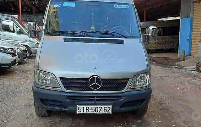 Cần bán gấp Mercedes Sprinter sản xuất 2009, màu bạc, 215 triệu0