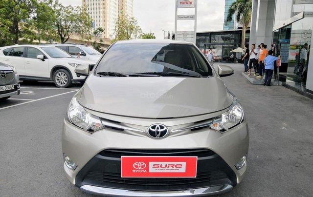 Bán Toyota Vios E CVT 1.5AT 2018, biển Hà Nội0