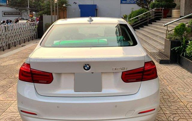 Bán BMW 320i CLI full LED model 2017, màu trắng, nội thất kem sang trọng và đầy phong cách2