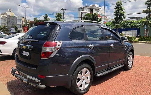 Bán ô tô Chevrolet Captiva sản xuất 2008, màu xanh lam còn mới1