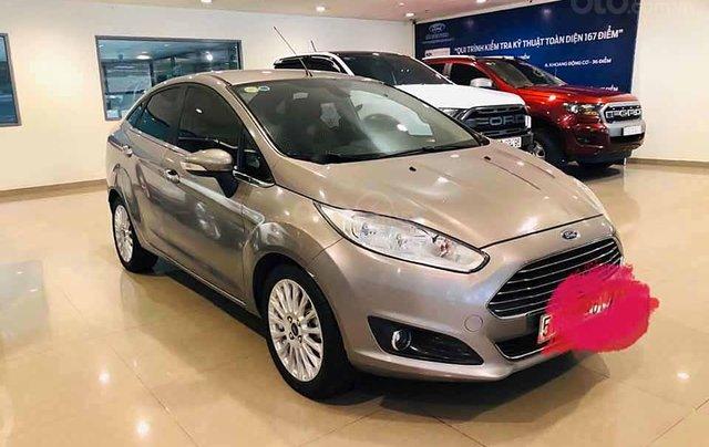Cần bán xe Ford Fiesta Titanium sản xuất năm 2017, màu xám  0