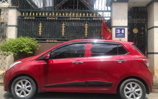 Bán Hyundai Grand i10 sản xuất năm 2016, màu đỏ, xe nhập, bản đủ0