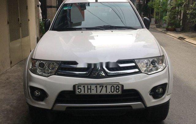 Bán Mitsubishi Pajero sản xuất năm 2017, màu trắng, nhập khẩu, 580 triệu0