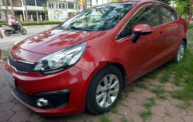 Bán xe Kia Rio đời 2016, màu đỏ, nhập khẩu 4