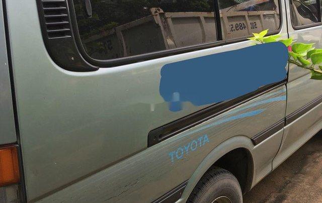 Bán xe Toyota Hiace đời 2000, xe nhập, 16 chỗ, màu xanh ngọc4