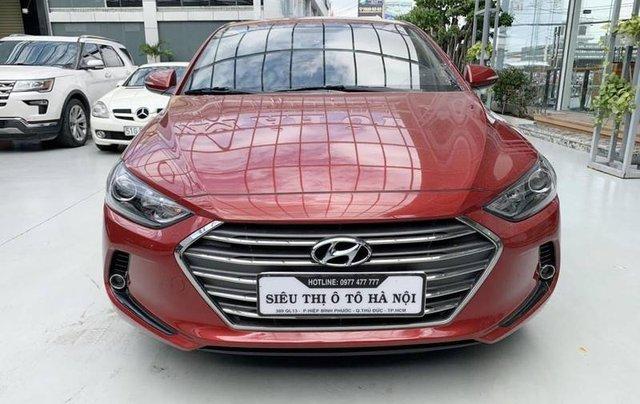 Bán Hyundai Elantra năm sản xuất 2018, màu đỏ, giá 485tr1