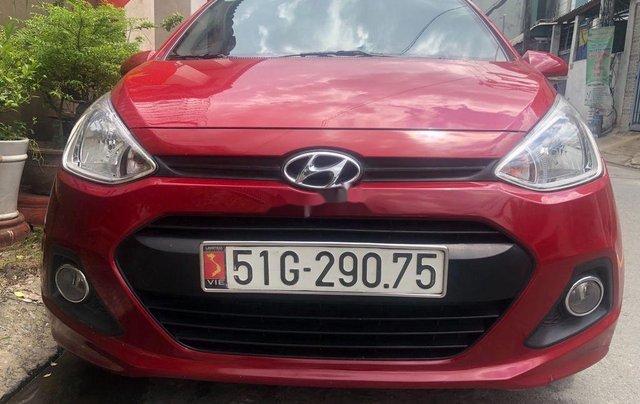 Bán Hyundai Grand i10 sản xuất năm 2016, màu đỏ, xe nhập, bản đủ1
